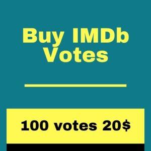 Buy 100 IMDb Votes