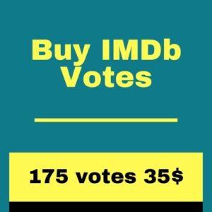 Buy 175 IMDb Votes