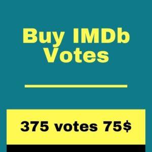 Buy 375 IMDb Votes