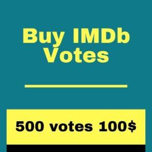 Buy 500 IMDb Votes